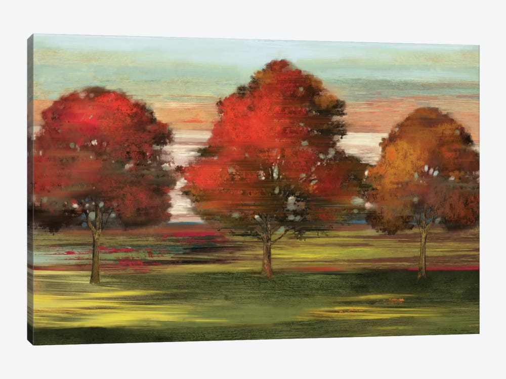 Trees In Motion by Allison Pearce 1-piece Canvas Print