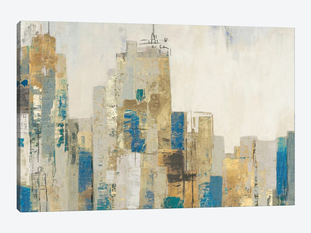 Wide City Blues 1-piece Art Print