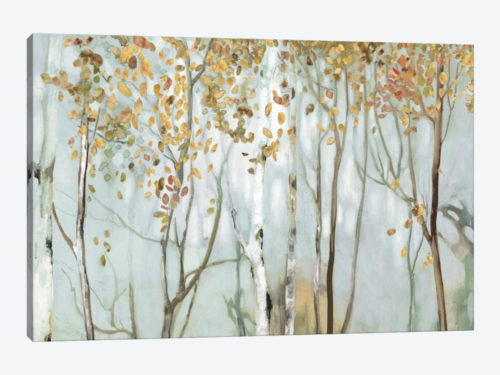 Birch In The Fog II by Allison Pearce 1-piece Canvas Art