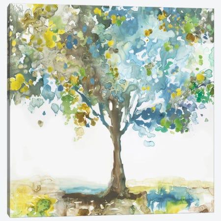 Majestic Blue Canvas Print #ALP237} by Allison Pearce Canvas Wall Art