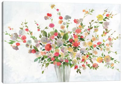 New Spring Bouquet Canvas Art Print