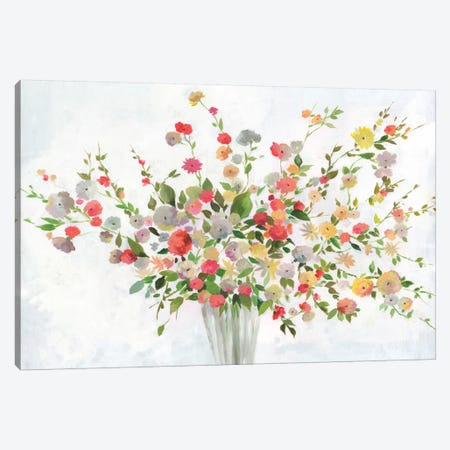 New Spring Bouquet Canvas Print #ALP238} by Allison Pearce Canvas Art Print