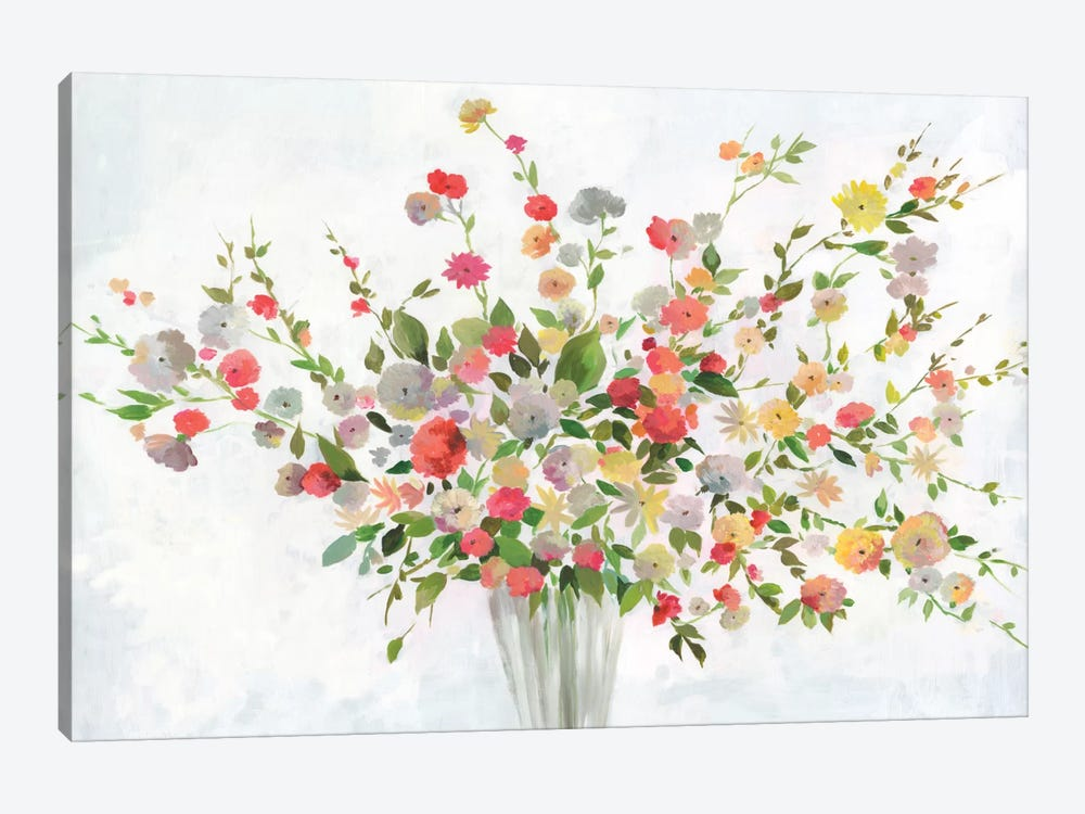 New Spring Bouquet by Allison Pearce 1-piece Canvas Artwork
