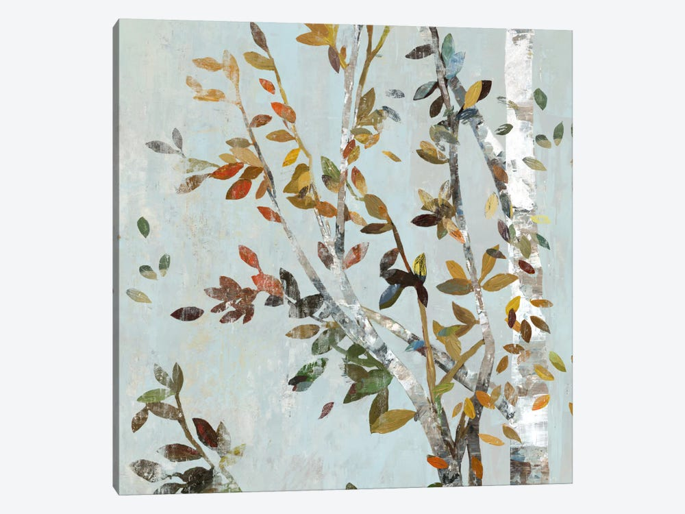 Birch With Leaves II by Allison Pearce 1-piece Canvas Print