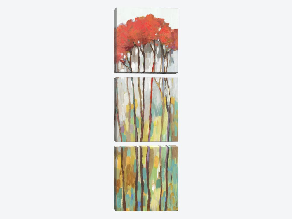 Standing Tall I by Allison Pearce 3-piece Canvas Print
