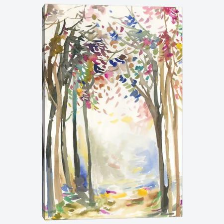 Sunny Path I Canvas Print #ALP246} by Allison Pearce Art Print