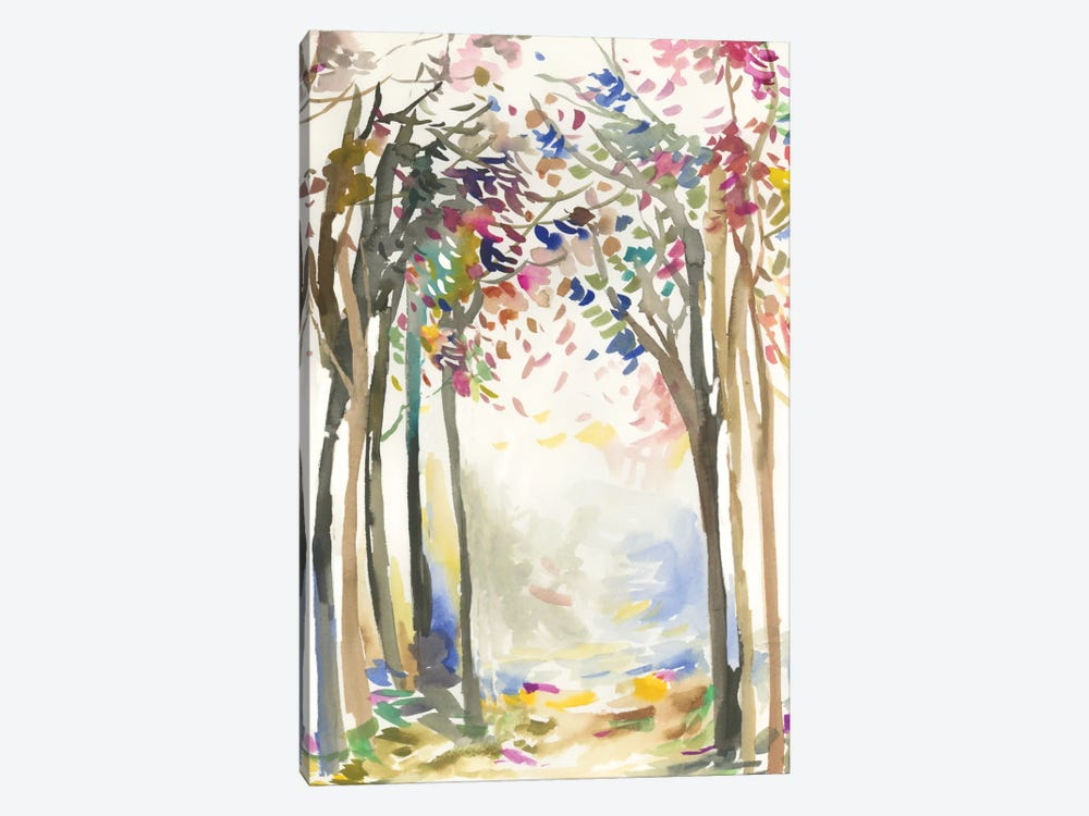Sunny Path I by Allison Pearce 1-piece Canvas Print