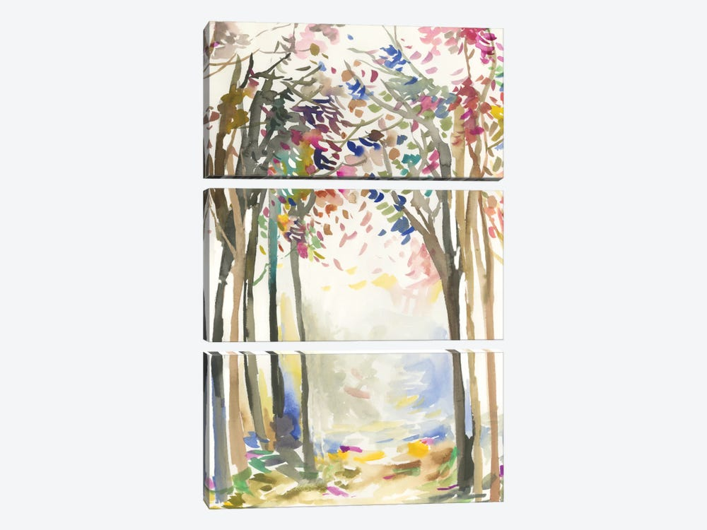 Sunny Path I by Allison Pearce 3-piece Art Print