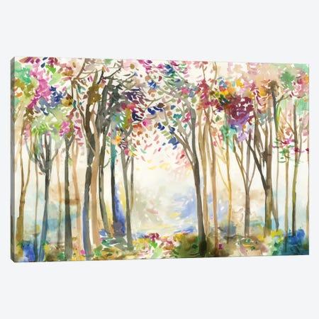 Sunny Path II Canvas Print #ALP247} by Allison Pearce Canvas Art Print