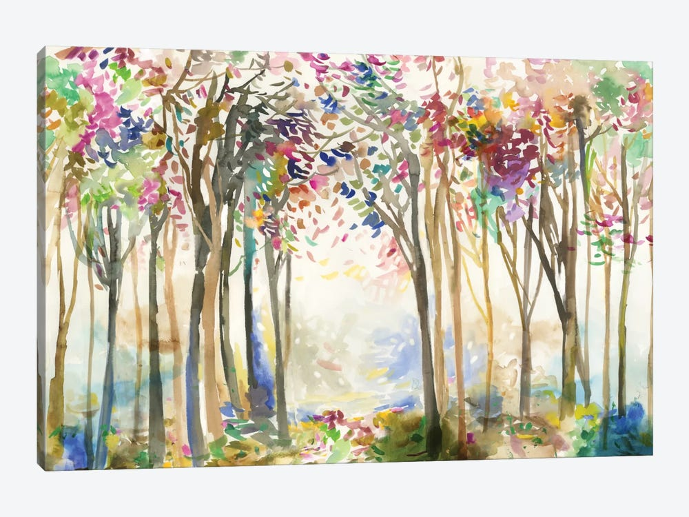 Sunny Path II by Allison Pearce 1-piece Canvas Art