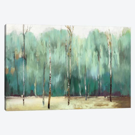 Teal Forest Canvas Print #ALP248} by Allison Pearce Canvas Artwork