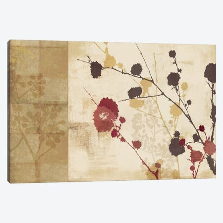 Blossoming I Canvas Print #ALP24} by Allison Pearce Canvas Artwork