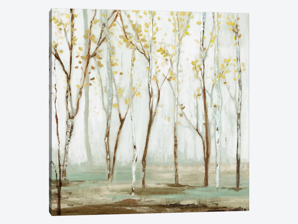 White On White Landscape by Allison Pearce 1-piece Canvas Artwork