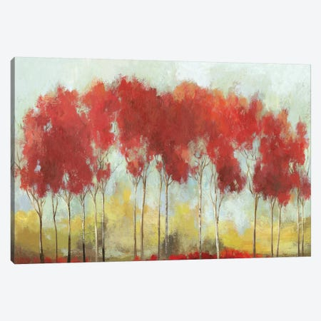A Fall Day Breeze Canvas Print #ALP254} by Allison Pearce Canvas Artwork