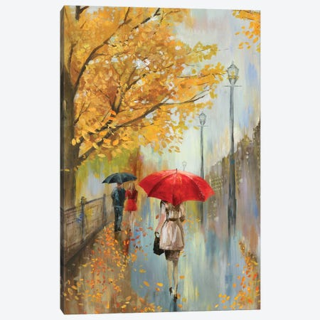 Across The Avenue Canvas Print #ALP256} by Allison Pearce Canvas Wall Art