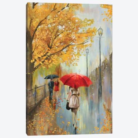 Across The Avenue Canvas Print #ALP256} by Allison Pearce Canvas Wall Art
