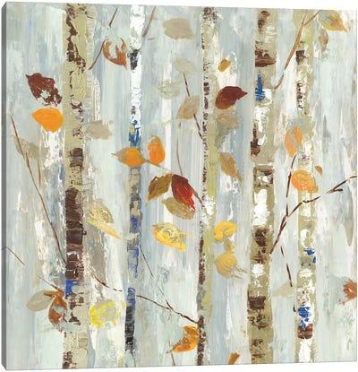 Autumn Petals Canvas Art Print