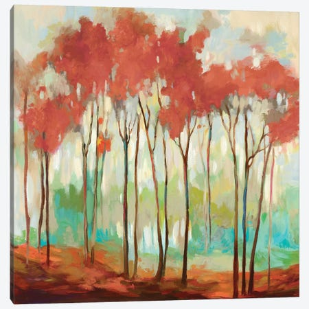 Beyond The Treetop Canvas Print #ALP258} by Allison Pearce Art Print