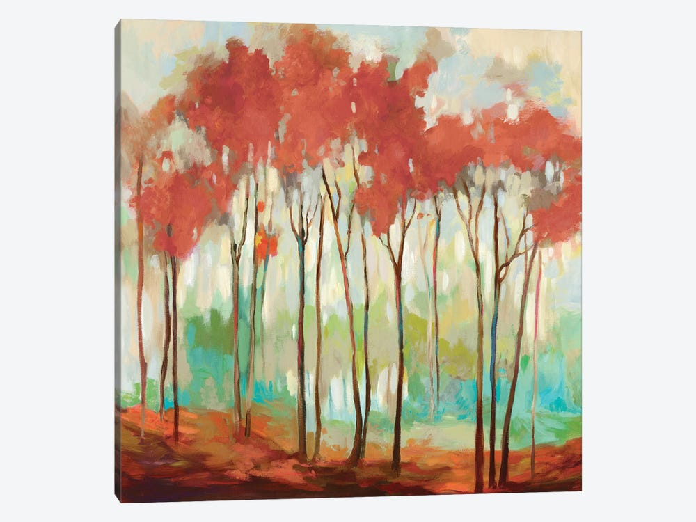 Beyond The Treetop by Allison Pearce 1-piece Canvas Artwork