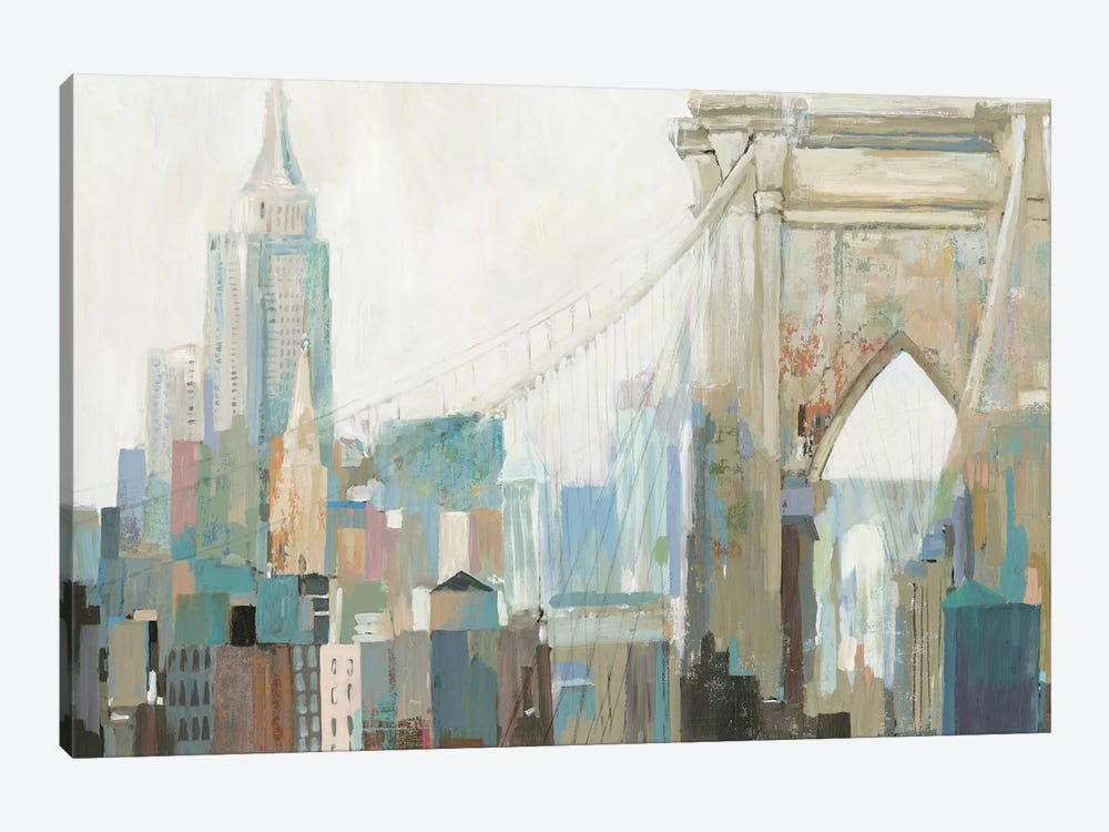 City Life I by Allison Pearce 1-piece Canvas Print