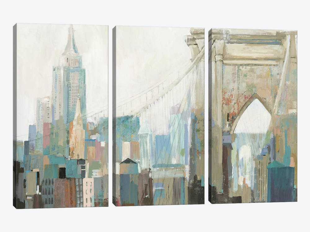 City Life I by Allison Pearce 3-piece Art Print