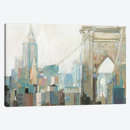 City Life I Canvas Print #ALP260} by Allison Pearce Canvas Artwork