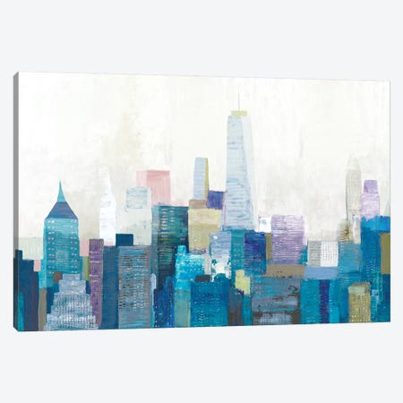 City Life II Canvas Print #ALP261} by Allison Pearce Canvas Art