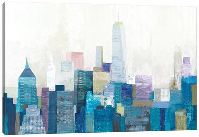 City Life II Canvas Art Print