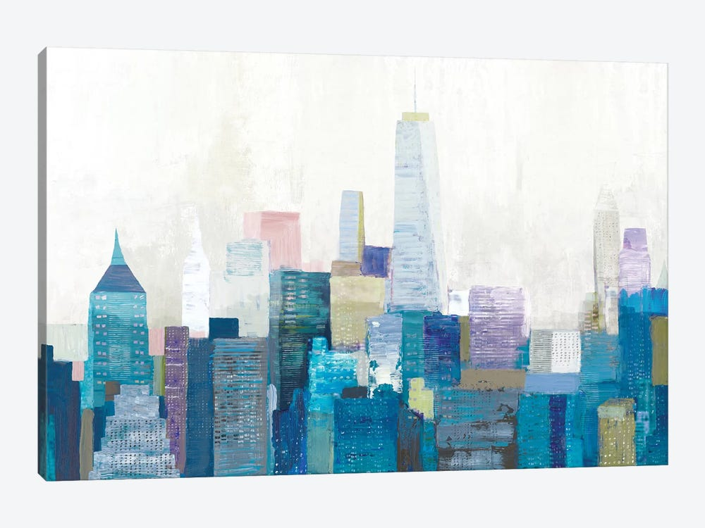 City Life II by Allison Pearce 1-piece Canvas Wall Art