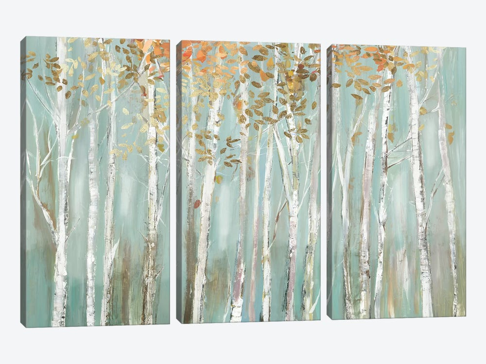 Enchanted Forest by Allison Pearce 3-piece Canvas Wall Art