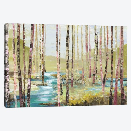 Group Of Birch Canvas Print #ALP266} by Allison Pearce Canvas Print