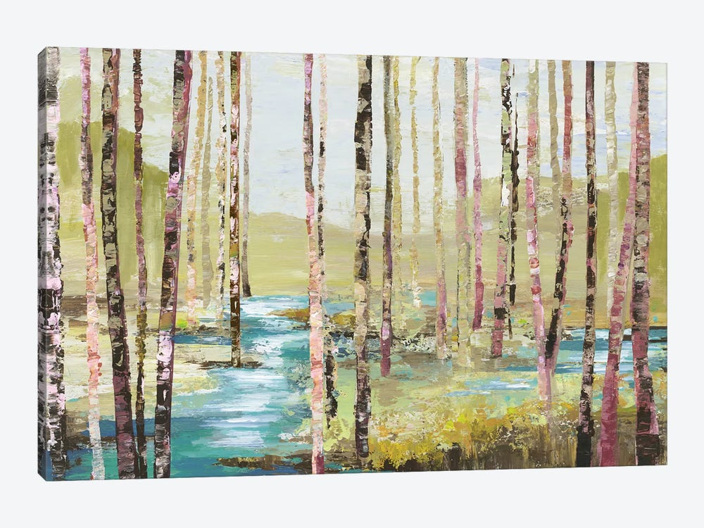 Group Of Birch by Allison Pearce 1-piece Canvas Art Print