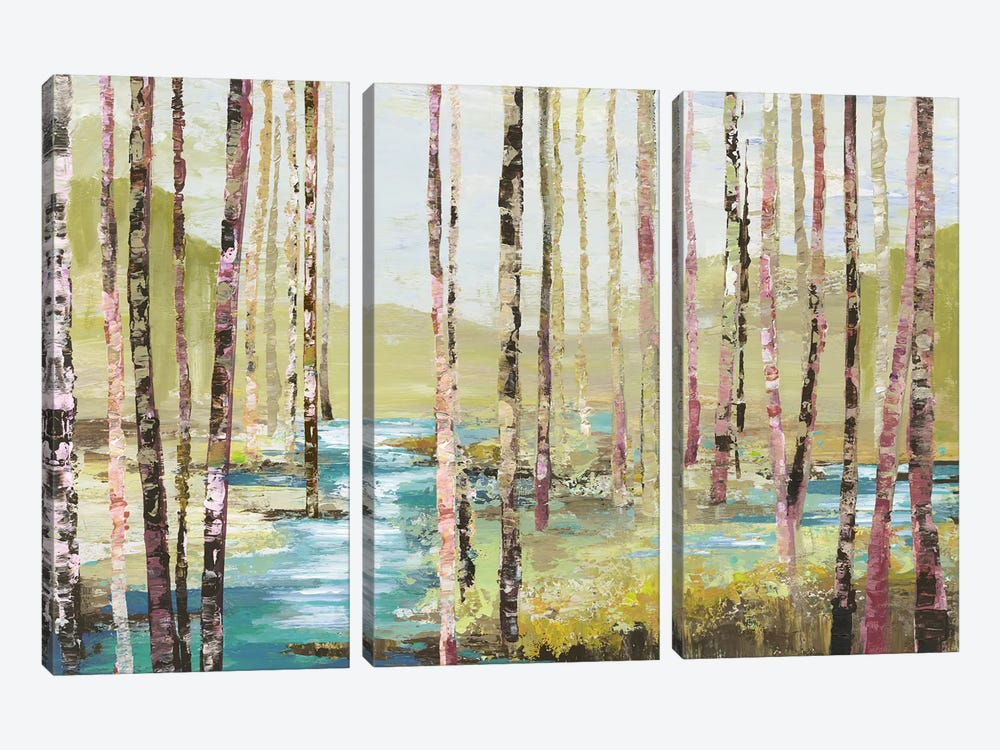 Group Of Birch by Allison Pearce 3-piece Art Print