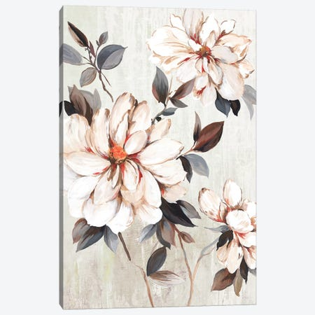 Growing Floral Canvas Print #ALP267} by Allison Pearce Canvas Print