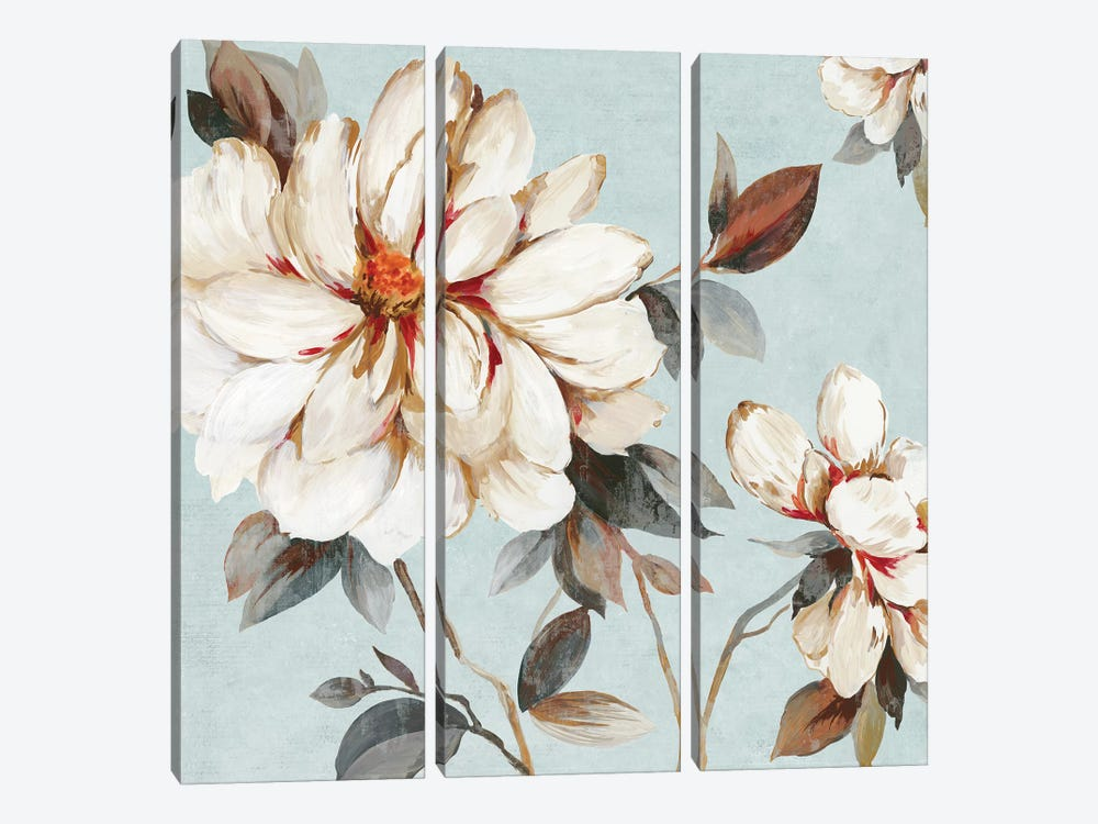 Neutral Bliss I by Allison Pearce 3-piece Canvas Wall Art