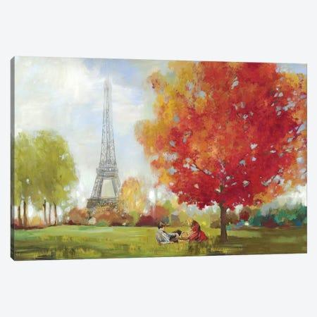 Paris Field 3-Piece Canvas #ALP271} by Allison Pearce Art Print