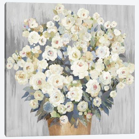 Budding Blossoms Canvas Print #ALP277} by Allison Pearce Canvas Wall Art