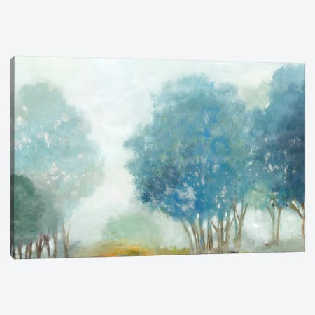 Blueberry Hill Canvas Print #ALP27} by Allison Pearce Canvas Artwork
