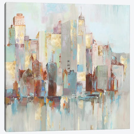 City Escape I  Canvas Print #ALP281} by Allison Pearce Canvas Wall Art