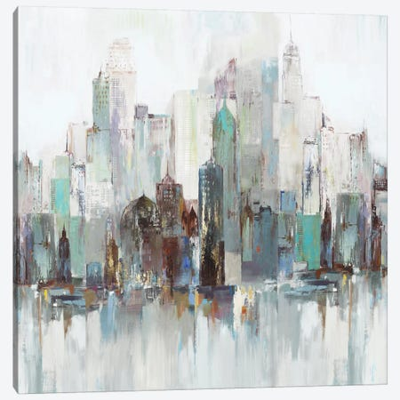 City Escape II  Canvas Print #ALP282} by Allison Pearce Canvas Art