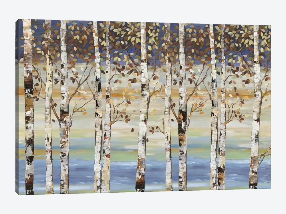 Dark Birch III  by Allison Pearce 1-piece Canvas Art