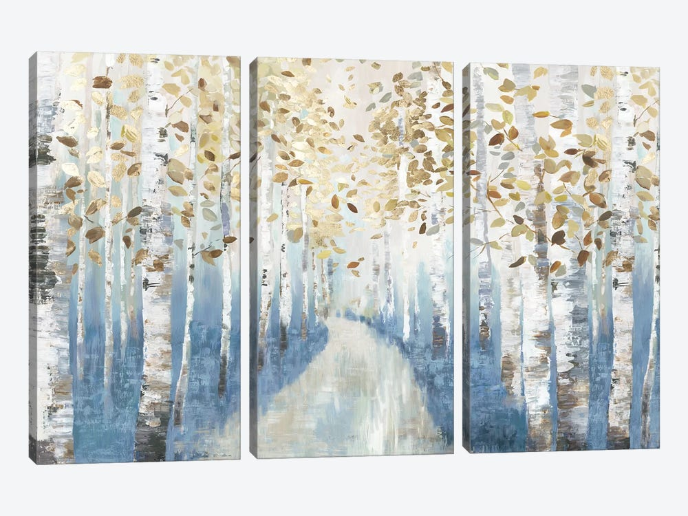 New Path I by Allison Pearce 3-piece Canvas Art