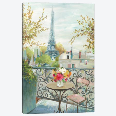 Paris At Noon Canvas Print #ALP296} by Allison Pearce Canvas Artwork