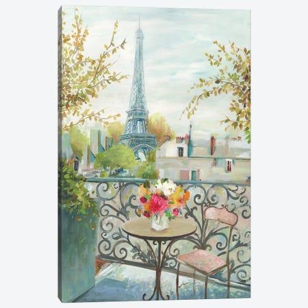 Paris At Noon Canvas Print #ALP296} by Allison Pearce Canvas Artwork