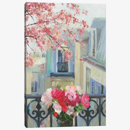 Paris In The Spring II Canvas Print #ALP298} by Allison Pearce Canvas Print