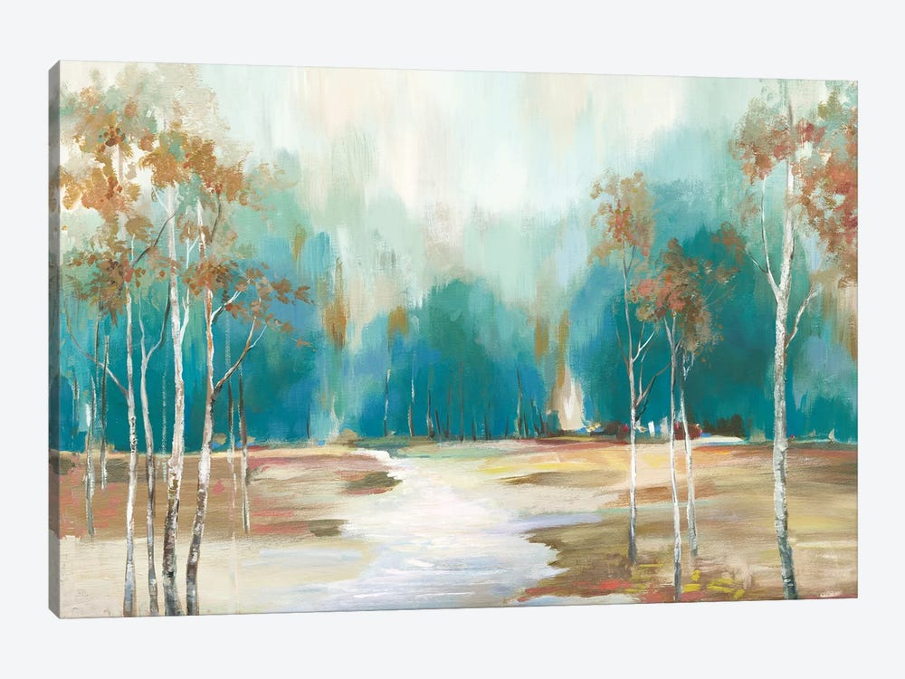 Pathway To The Forest by Allison Pearce 1-piece Canvas Print
