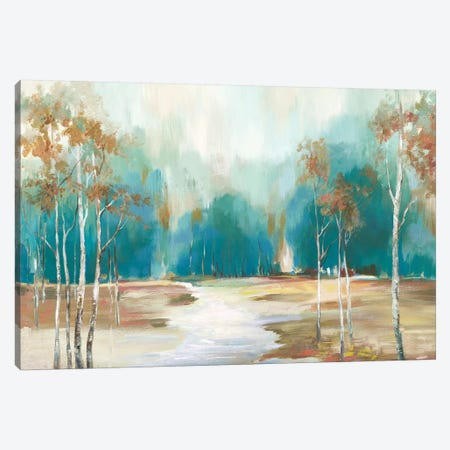 Pathway To The Forest Canvas Print #ALP299} by Allison Pearce Canvas Art Print