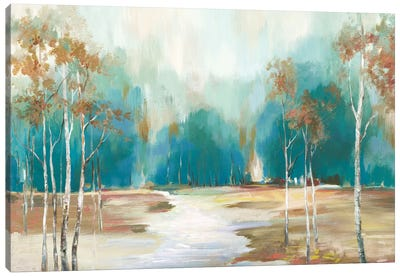 Pathway To The Forest Canvas Art Print