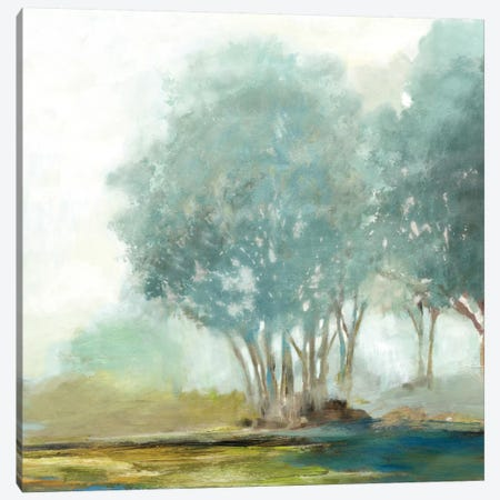 Blueberry Hill II, Square Canvas Print #ALP29} by Allison Pearce Art Print