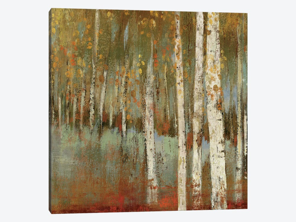 Along The Path I by Allison Pearce 1-piece Canvas Art Print